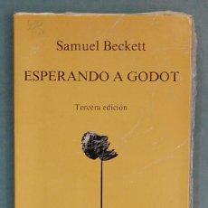 Libros: ESPERANDO A GODOT. SAMUEL BECKETT. Lote 93779330
