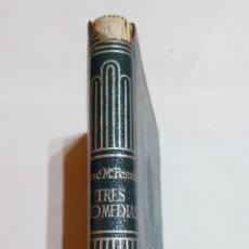 Libros: LIBRO TRES COMEDIAS JOSÉ MARIA PEMAN. AGUILAR CRISOL CRISOLIN. 6° EDICIÓN 1962 N°46. Lote 105312343