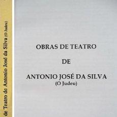 Libros: SILVA, ANTONIO JOSÉ DA [«O JUDEU»]. OBRAS DE TEATRO. I: VIDA DEL GRANDE DON QUIJOTE DE... 2006.. Lote 106050175
