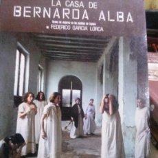 Libros: LA CASA DE BERNARDA ALBA . F.GARCIA LORCA,TEATRO ESPAÑOL. Lote 107113811