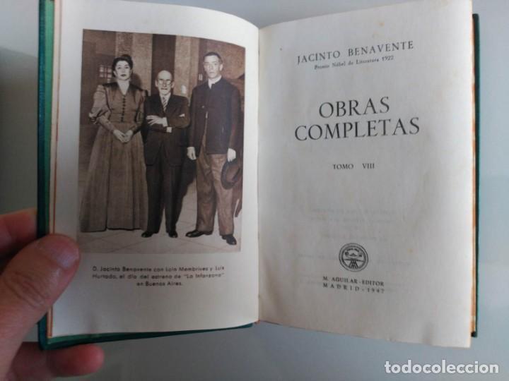 Libros: Joya, Jacinto Benavente, Tomo VIII, Aguilar - Foto 3 - 139710566