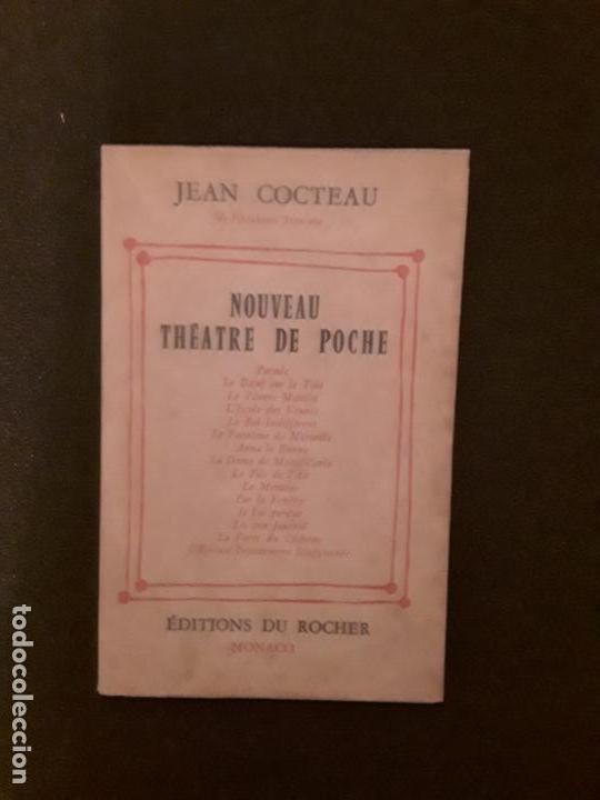 COCTEAU JEAN. NOUVEAU THÉATRE DE POCHE. PEQUEÑAS PIEZAS DE TEATRO. (Libros Nuevos - Literatura - Teatro)
