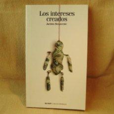 Libros: LIBRO LOS INTERESES CREADOS. OBRA DE TEATRO DE JACINTO BENAVENTE.. Lote 150990010