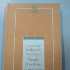 Libros: AS ACTAS ESCURAS.ROBERTO VIDAL BOLAÑO/MAREMIA.EULOXIO RUIBAL/O CIRCO DA MEDIANOITE.MANUEL LOURENZO. Lote 173257373