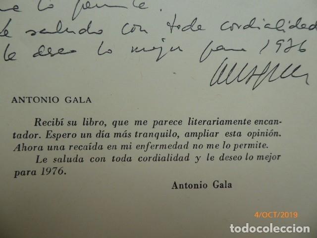 UN LIBRO DE MALAGA, POR J. CODESO, DEDICATORIA, Y DE ANTONIO GALA, (Libros Nuevos - Literatura - Teatro)