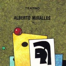 Libros: LA EDAD DE LOS PRODIGIOS (ALBERTO MIRALLES) CASTILLA 2002. Lote 182316408