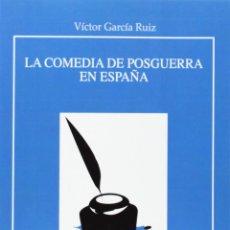 Libros: LA COMEDIA DE POSGUERRA EN ESPAÑA (VÍCTOR GARCÍA RUIZ) EUNSA 2014. Lote 183696520