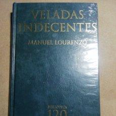Libros: NUEVO EN EL PLÁSTICO. VELADAS INDECENTES. MANUEL LORENZO. EN GALLEGO. Lote 184885010