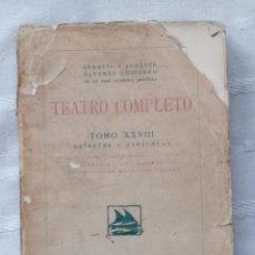Libros: RINCONETE Y CORTADILLO.LA CASA DE LOS DE ENFRENTE.LOS MARCHOSOS.LA DEL DOS DE MAYO.ALVAREZ QUINTERO. Lote 185903087