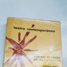 Libros: TEATRO FRANCES DE VANGUARDIA. TEATRO CONTEMPORANEO. AGUILAR. 1960. Lote 196838875