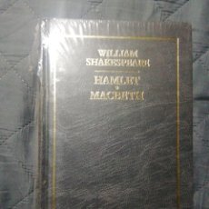 Libros: NUEVO EN EL PLÁSTICO. HAMLET/MACBETH. WILLIAM SHAKESPEARE. TAPA DURA. Lote 198259481
