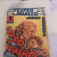 Libros: TEATRO SELECTO JACINTO BENAVENTE.. Lote 200360451
