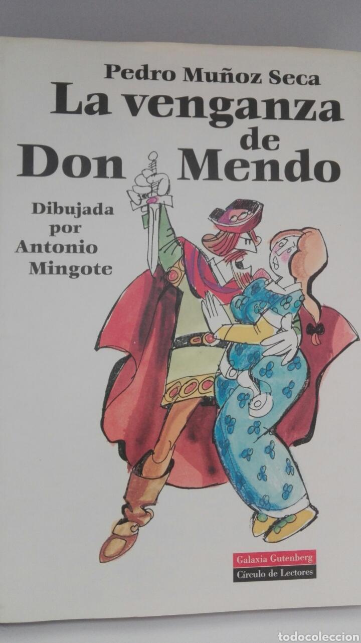 LA VENGANZA DE DON MENDO. DIBUJADA POR ANTONIO MINGOTE EDICIÓN 1994. (Libros Nuevos - Literatura - Teatro)