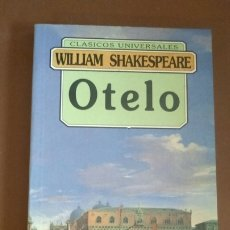 Libros: OTELO. WILLIAM SHAKESPEARE. EDICIÓN INTEGRA 9788476728765. FONTANA. Lote 213973575