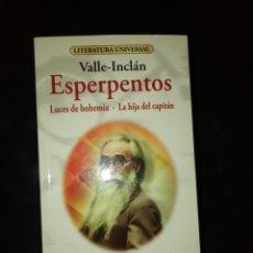 Libros: LUCES DE BOHEMIA, VALLE INCLAN. Lote 215071231