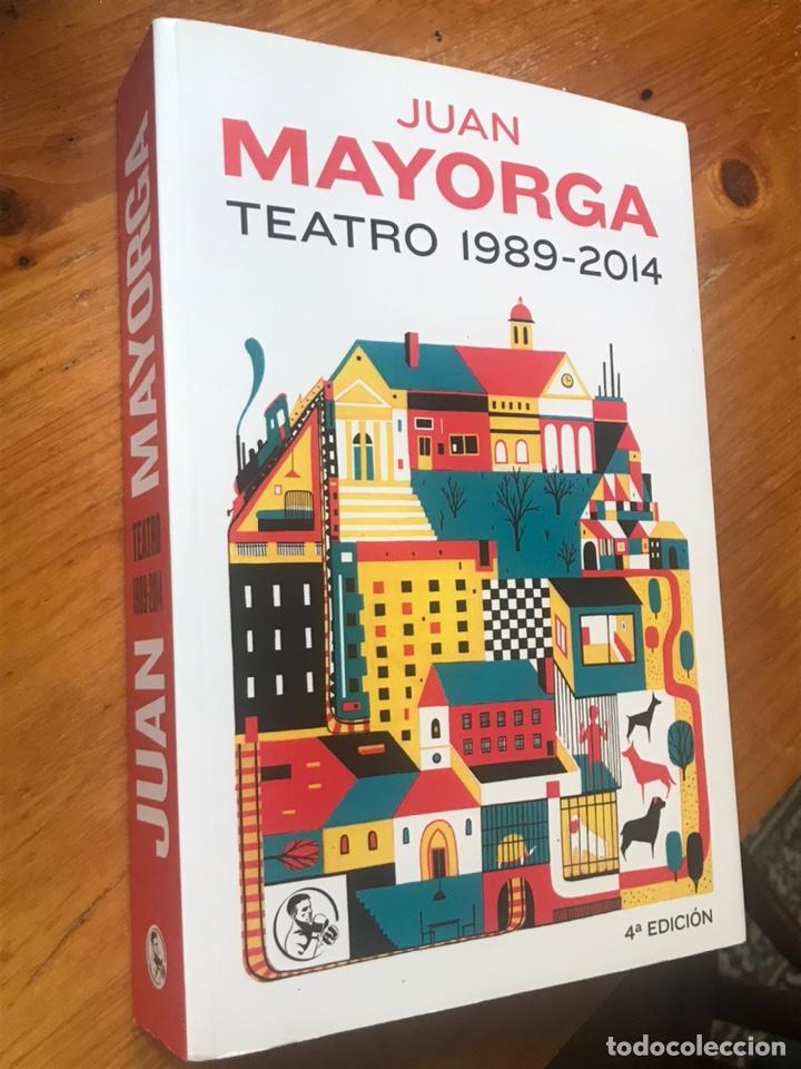 TEATRO 1989- 2014 (JUAN MAYORGA) (Libros Nuevos - Literatura - Teatro)