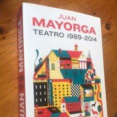 Livros: TEATRO 1989- 2014 (JUAN MAYORGA). Lote 216373168