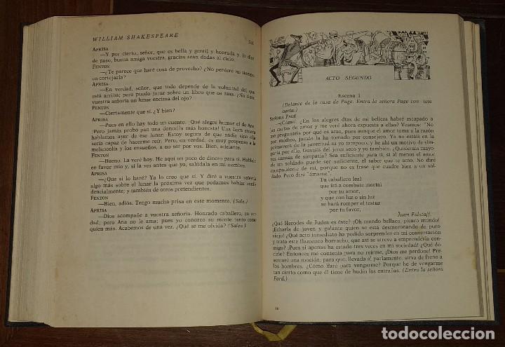 Libros: Dramas. Comedias. Tomo I: Hamlet, El rey Lear, El mercader de Venecia, Otelo, Macbeth, Las alegres c - Foto 6 - 237340155