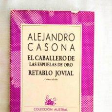 Libros: CASONA: EL CABALLERO DE LAS ESPUELAS DE ORO - NUEVO. Lote 240022310