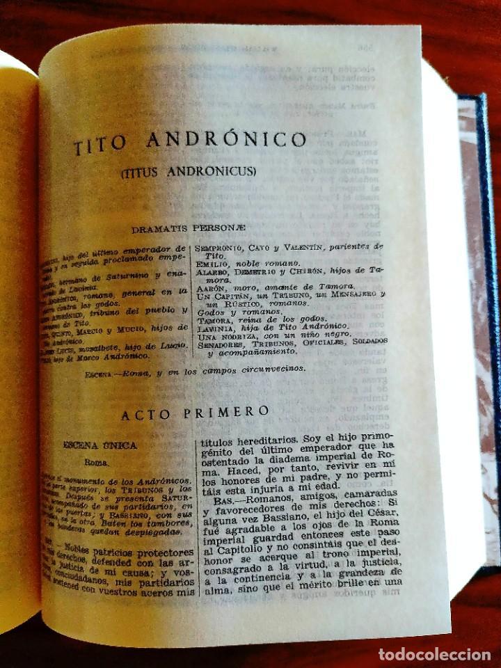 Libros: SHAKESPEARE - TRAGEDIAS COMPLETAS - AGUILAR - NUEVO - Foto 2 - 240486165