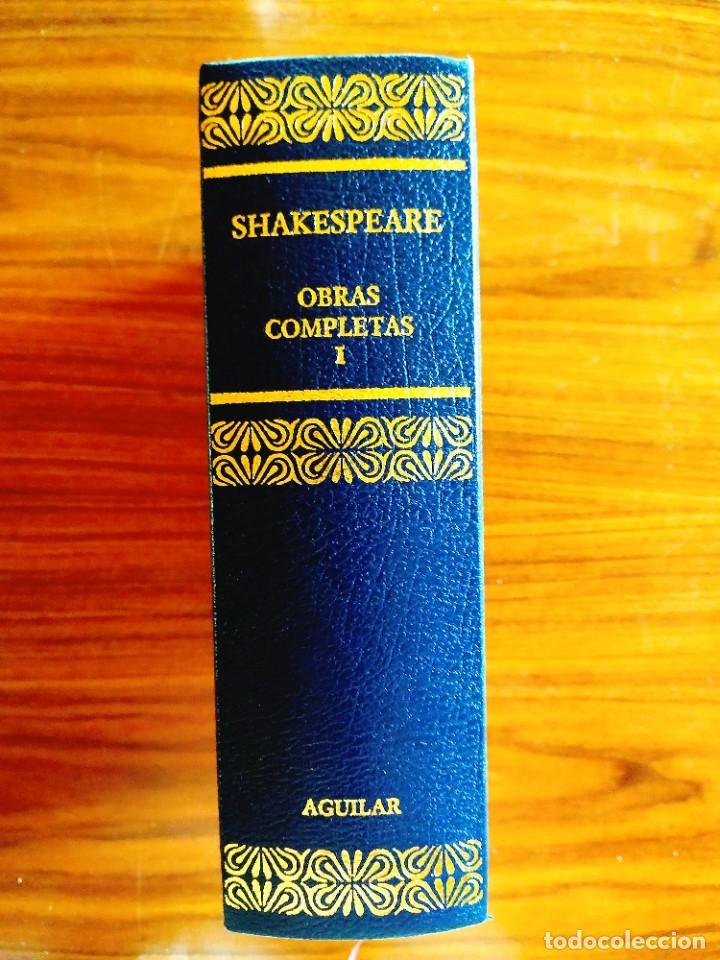 Libros: SHAKESPEARE - TRAGEDIAS COMPLETAS - AGUILAR - NUEVO - Foto 3 - 240486165