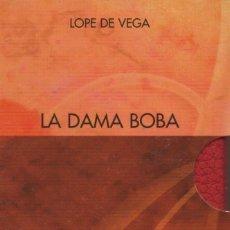 Libros: LA DAMA BOBA. 2 VOLÚMENES. LOPE DE VEGA. SIMANCAS EDICIONES (EL PARNASILLO). 2006. NUEVO.. Lote 244778635