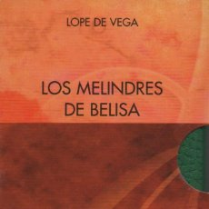 Libros: LOS MELINDRES DE BELISA.2 VOLÚMENES.LOPE DE VEGA.SIMANCAS EDICIONES (EL PARNASILLO).2006.NUEVO.. Lote 244781255