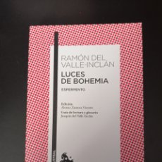 Libros: LUCES DE BOHEMIA RAMON DEL VALLE-INCLAN. Lote 256051535