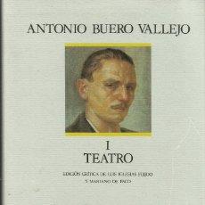Livros: TEATRO (OBRAS COMPLETAS I) / BUERO VALLEJO. Lote 259022465