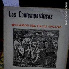Libros: DEL VALLE ICLAN RAMON.VOCES DE GESTA.TRAGEDIA PASTORIL/LOS CONTEMPORANEOS.. Lote 261364755
