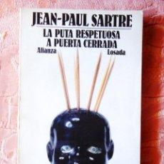 Libros: SARTRE: LA PUTA RESPETUOSA - A PUERTA CERRADA - AUSTRAL/LOSADA. Lote 270138458