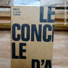 Libros: PANIZZA OSCAR. LE CONCILE D´AMOUR.PREFACE D´ANDRE BRETON.TRAGEDIE CELESTE ZURICH 1895.. Lote 272895938