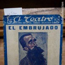 Libros: VALLE INCLAN. EL EMBRUJADO.TRAGEDIA EN 3 ACTOS.. Lote 273610323
