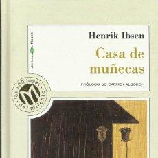 Libros: CASA DE MUÑECAS / HENRIK IBSEN.. Lote 275070328