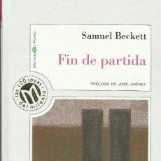 Libros: FIN DE PARTIDA / SAMUEL BECKETT.. Lote 275110153