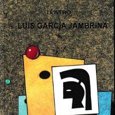 Libros: LA ULTIMA ESCENA (LUIS GARCÍA JAMBRINA) CASTILLA ED. 2021. Lote 286849643