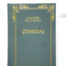 Libros: CALDERÓN DE LA BARCA: COMEDIAS - BIBLIOTECA CLÁSICA CASTALIA - NUEVO. Lote 288066713