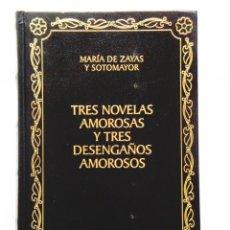 Libros: ZAYAS: TRES NOVELAS AMOROSAS - BIBLIOTECA CLÁSICA CASTALIA - NUEVO. Lote 288066943
