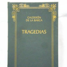 Libros: CALDERÓN DE LA BARCA: TRAGEDIAS - BIBLIOTECA CLÁSICA CASTALIA - NUEVO. Lote 288067723