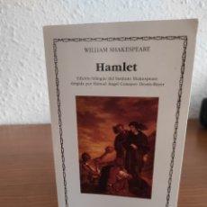 Libros: HAMLET DE SHAKESPEARE | EDICIÓN BILINGÜE. Lote 288341488