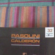 Libros: CUADERNOS EL PÚBLICO Nº 32. 1988. PASOLINI. CALDERÓN Y OTRAS TRAGEDIAS CIVILES. Lote 293819098