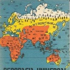Libros de segunda mano: GEOGRAFIA UNIVERSAL 2º CURSO. Lote 26286590