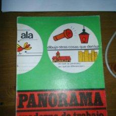 Libros de segunda mano: ANTIGUO LIBRO CUADERNO DE TRABAJO 2 PANORAMA EDITORIAL SANTILLANA 1969. Lote 3656335