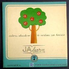 Libros de segunda mano: SISTEMA EDUCATIVO DE ESCRITURA POR HENDIDO. JALEARN. Nº 7. TREVERT EDICIONES. BARCELONA, 1975.. Lote 13464263