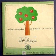 Libros de segunda mano: SISTEMA EDUCATIVO DE ESCRITURA POR HENDIDO. JALEARN. Nº 4. TREVERT EDICIONES. BARCELONA, 1975.. Lote 13393615