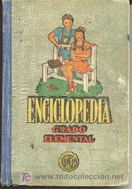 ENCICLOPEDIA GRADO ELEMENTAL (Libros de Segunda Mano - Libros de Texto )
