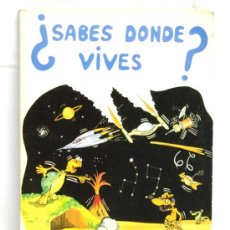 Libros de segunda mano: ¿SABES DONDE VIVES? CARMEN GUTIERREZ DE GAMBRA ED FOMENTO DE BIBLIOTECAS 1985. Lote 4949771