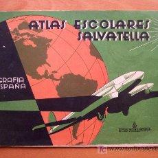 Libros de segunda mano: ATLAS ESCOLARES SALVATELLA Nº 2 - 31 X 21 CM. - EDITORIAL SALVATELLA 1962. Lote 22750212