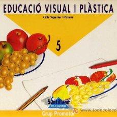 Libros de segunda mano: EDUCACIÓ VISUAL I PLÀSTICA 5 - CICLE SUPERIOR - PRIMER - GRUP PROMOTOR SANTILLANA 1994. Lote 8617790