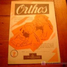 Libros de segunda mano: CUADERNO DE ESCRITURA ORTHOS PRIMERA PARTE Nº2 SALVATELLA 1959. Lote 19904935